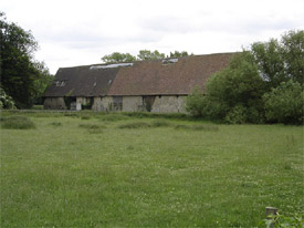 Rear of Boxley Abbey Barn, Boxley, Maidstone