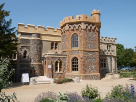 Whitstable Castle Front Elevation
