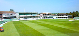 Kent County Cricket Ground, Canterbury Green & Stands