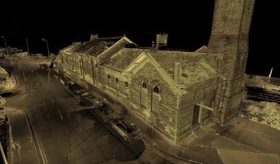 Laser Scanning Survey Grade 2 Listed Old Dover Harbour Railway Station